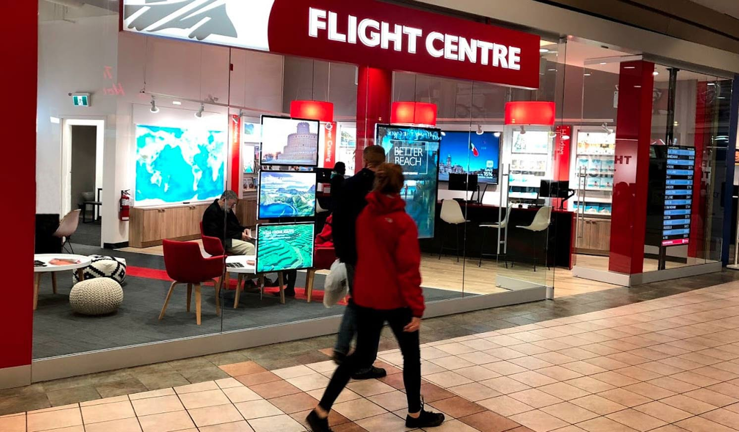 Flight Centre Storefront